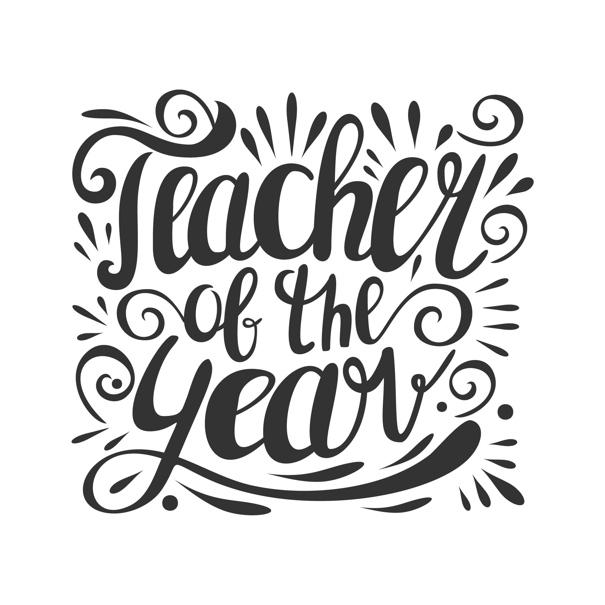 Personnalisé THANK YOU TEACHER Bougie Étiquette//autocollant parfait de fin d/'année Cadeau